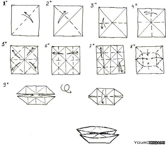 Базовая форма лодочка (катамаран) 44361