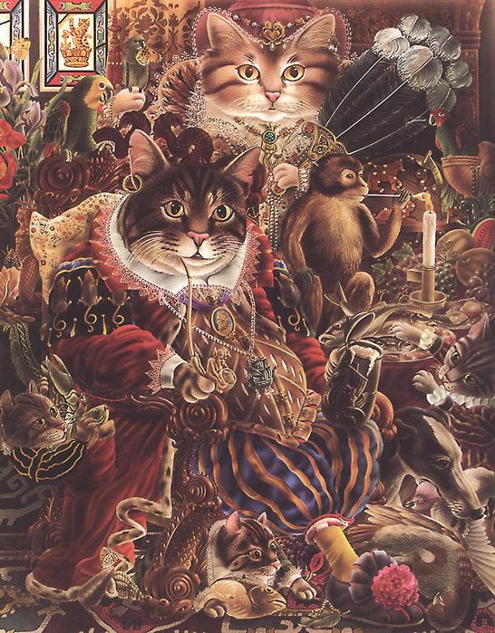 Иллюстратор Alan Aldridge