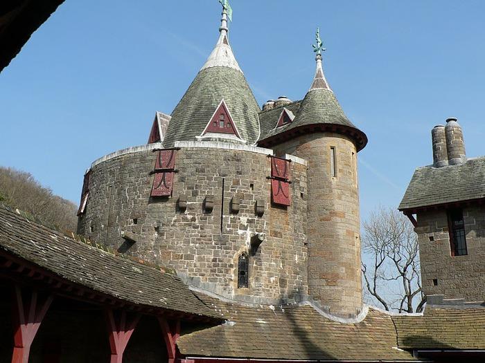 "CASTELL COCH -""Красный замок"". 25541"