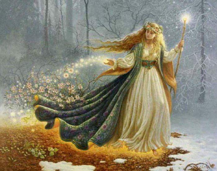 Лесная фея.