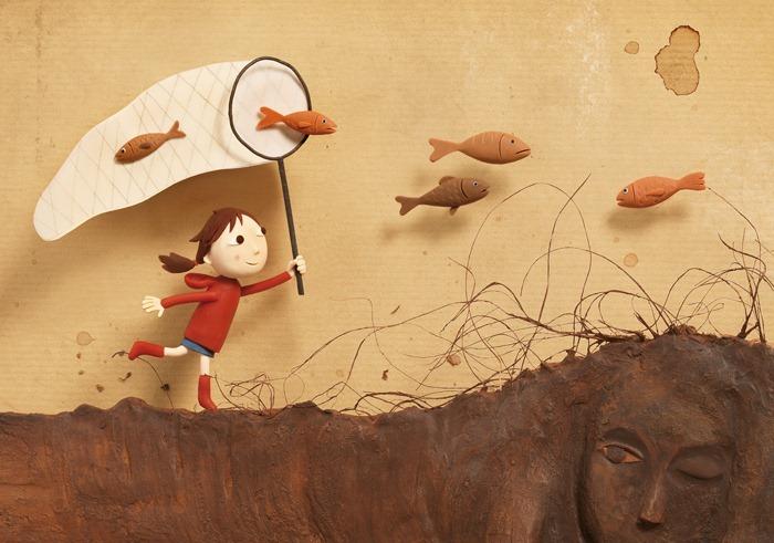 Пластилиновые иллюстрации Ирмы Груенхольз (Irma Gruenholz) 37