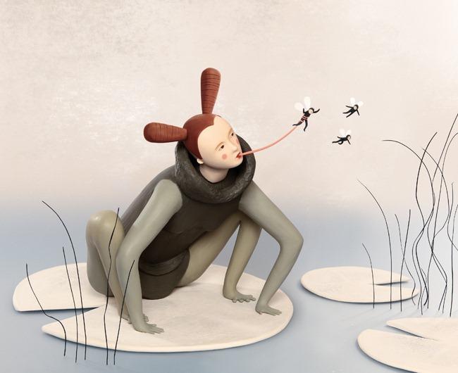 Пластилиновые иллюстрации Ирмы Груенхольз (Irma Gruenholz) 39