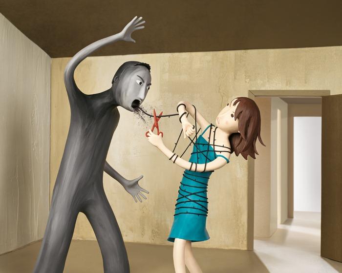 Пластилиновые иллюстрации Ирмы Груенхольз (Irma Gruenholz) 48