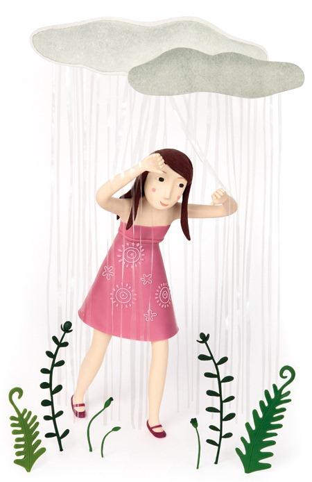 Пластилиновые иллюстрации Ирмы Груенхольз (Irma Gruenholz) 3