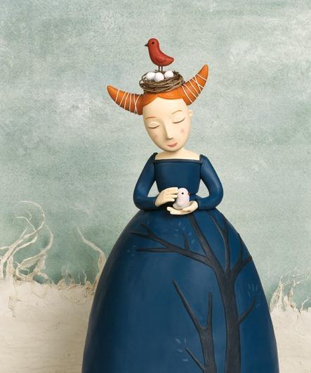 Пластилиновые иллюстрации Ирмы Груенхольз (Irma Gruenholz) 7