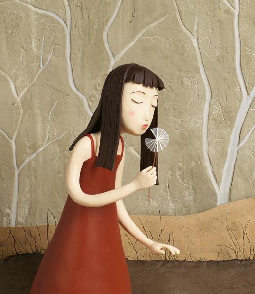 Пластилиновые иллюстрации Ирмы Груенхольз (Irma Gruenholz) 16