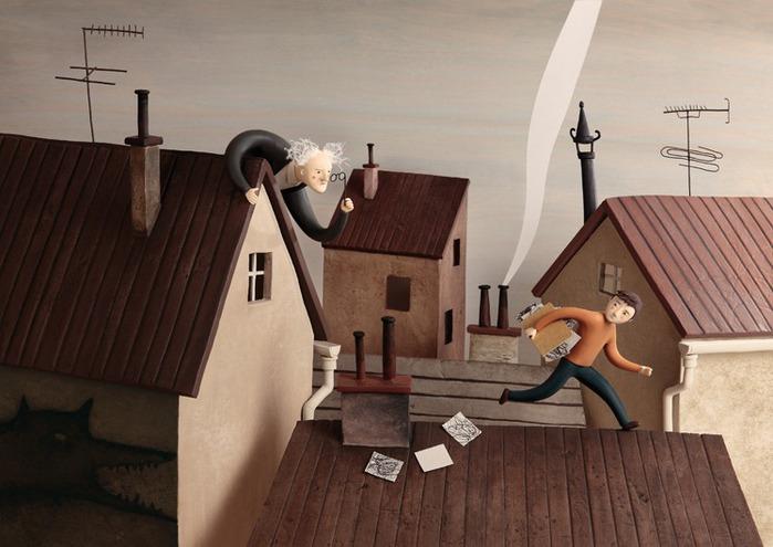 Пластилиновые иллюстрации Ирмы Груенхольз (Irma Gruenholz) 23