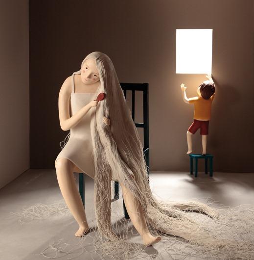 Пластилиновые иллюстрации Ирмы Груенхольз (Irma Gruenholz) 25