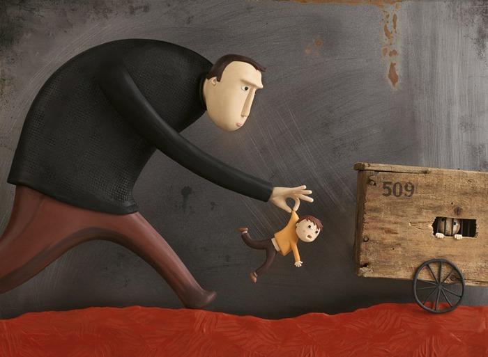 Пластилиновые иллюстрации Ирмы Груенхольз (Irma Gruenholz) 33