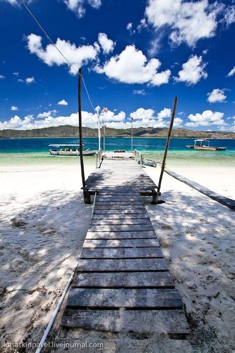 Райский остров Gili Nanggu 10