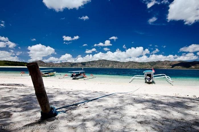 Райский остров Gili Nanggu 12