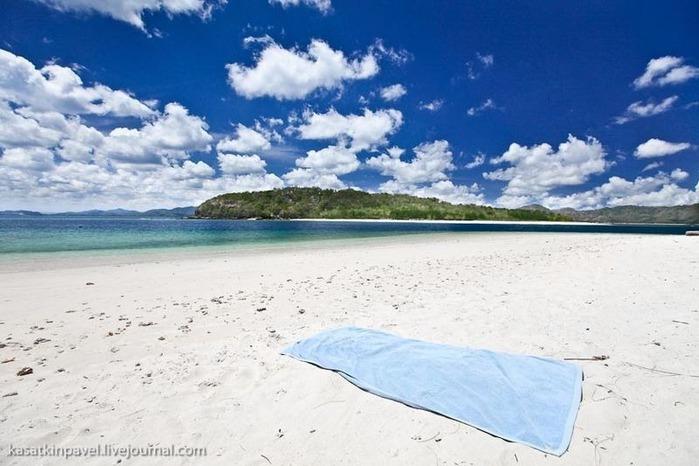 Райский остров Gili Nanggu 13