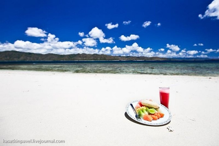 Райский остров Gili Nanggu 15