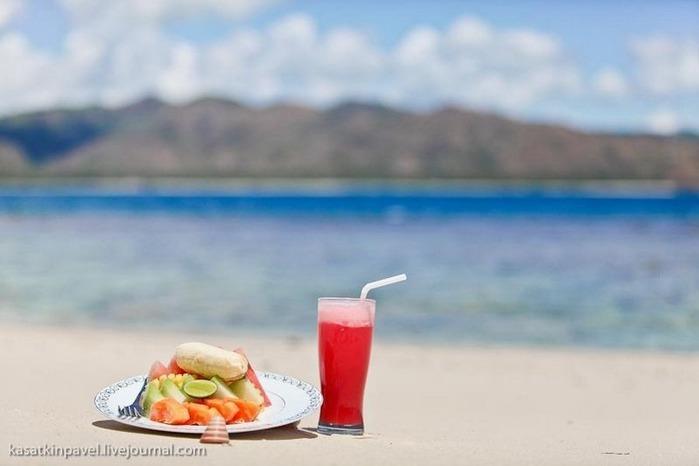 Райский остров Gili Nanggu 17