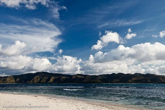 Райский остров Gili Nanggu 30
