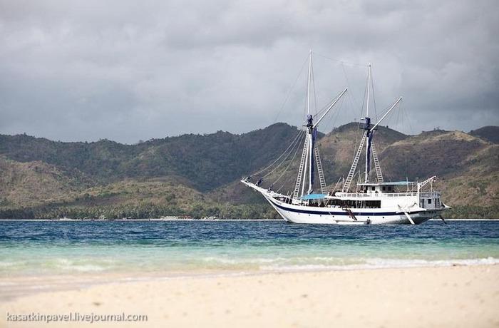 Райский остров Gili Nanggu 36