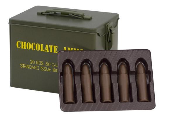 шоколоданые конфеты - патроны