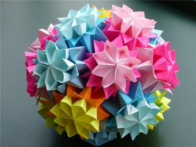 Техника оригами произвела на
