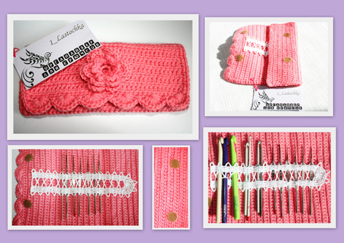 crochet hook bag