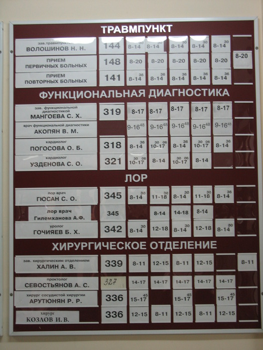 Поликлиника на киевской рубцовск запись к врачу киевская
