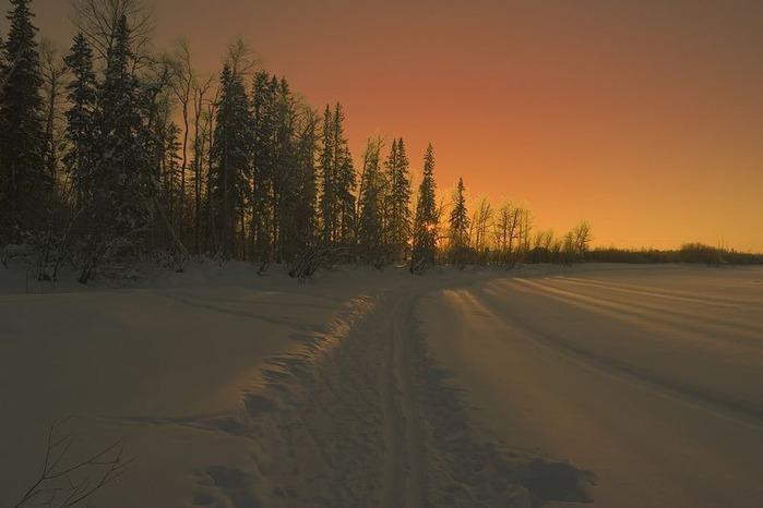 Вот и наступила зима 3