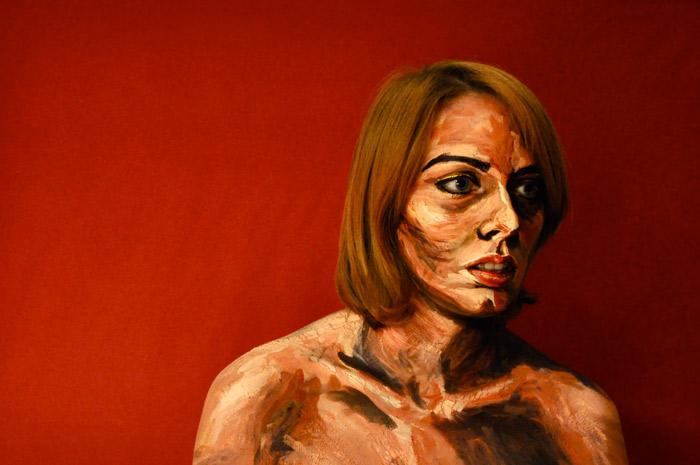 Картины акриловыми красками Алексы Мид  (Alexa Meade)