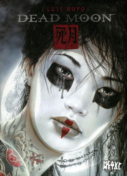Новый альбом Dead moon от Luis Royo 1