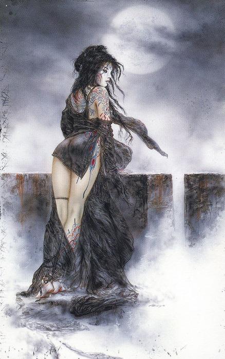 Новый альбом Dead moon от Luis Royo 3