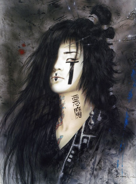Новый альбом Dead moon от Luis Royo 26