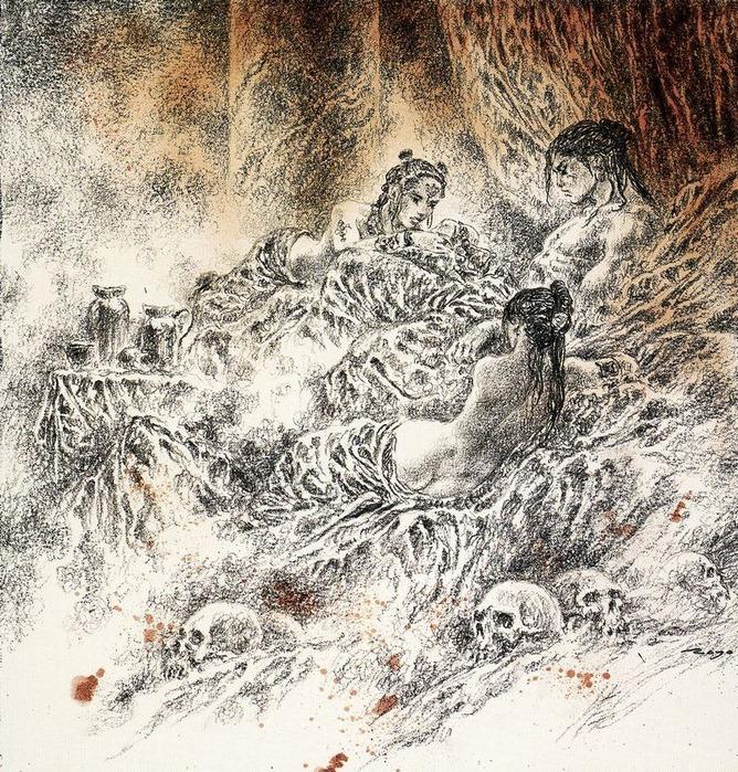Новый альбом Dead moon от Luis Royo 54