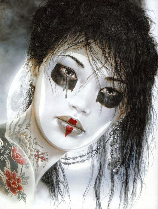 Новый альбом Dead moon от Luis Royo 89
