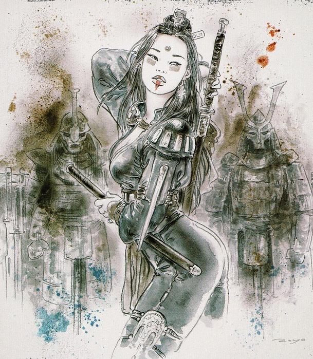 Новый альбом Dead moon от Luis Royo 90