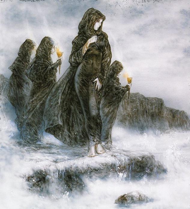 Новый альбом Dead moon от Luis Royo 94