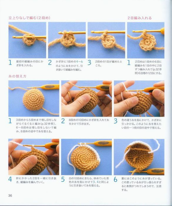 Как вязать кольцо амигуруми крючком