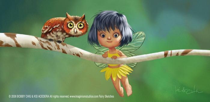 Детская иллюстрация - художник Bobby Chiu 3