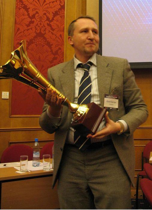 Победитель третьего чемпионата по управленческой борьбе Константин Селянин