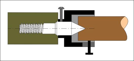 Вращающийся центр для токарного станка своими руками