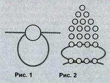 Пальма из бисера (схема)