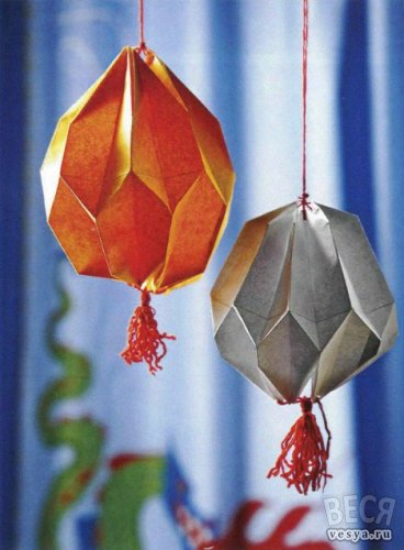 chinese lantern made of paper