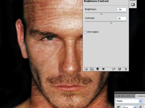 Как состарить портрет - лучшие уроки Фотошоп