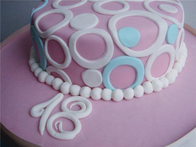 идеи украшения тортов мастикой
