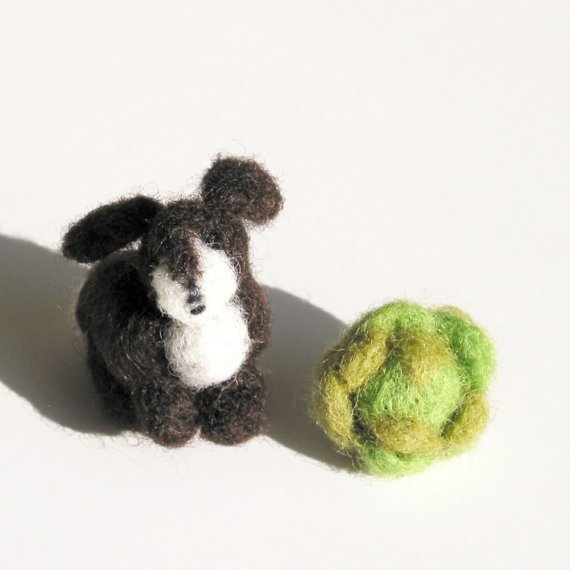 Toys made of wool