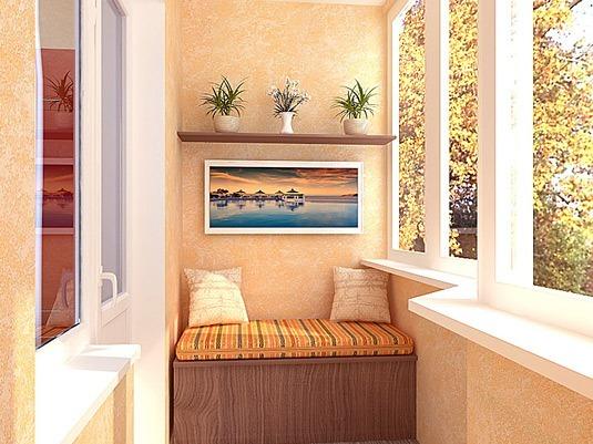 Интерьер балкона в вашем доме 6
