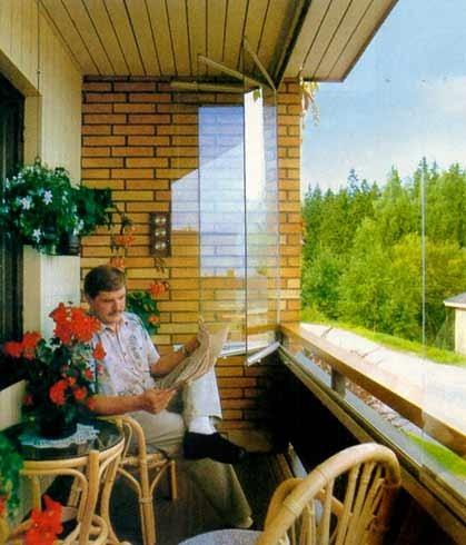 Как преобразить интерьер балкона 10