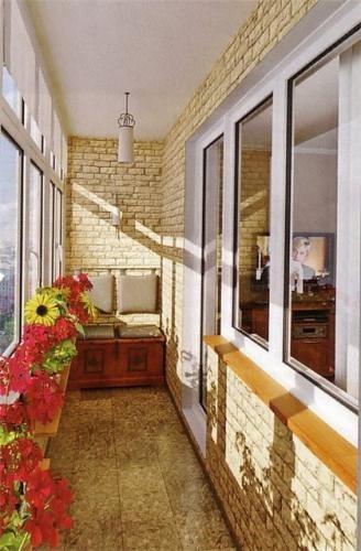 Как преобразить интерьер балкона 19