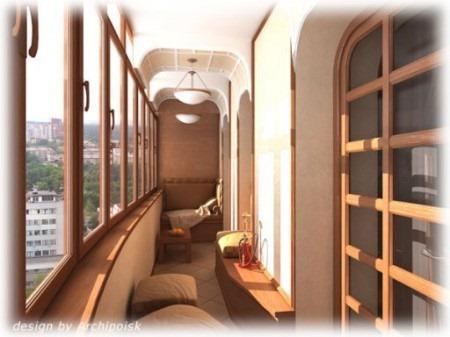 Как преобразить интерьер балкона 21