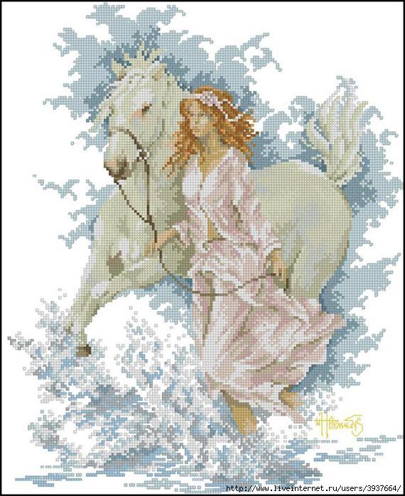 леди с лошадью
