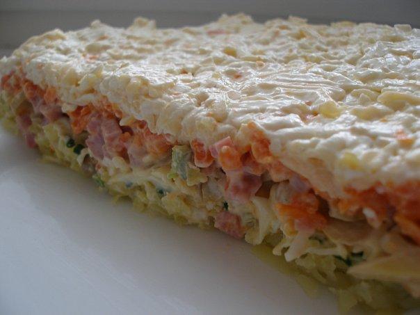 салат с грибами (604x453, 41 Kb)