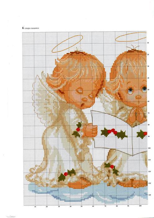 Ангелочки (вышивка)