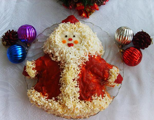 Коледна декорация на ястия